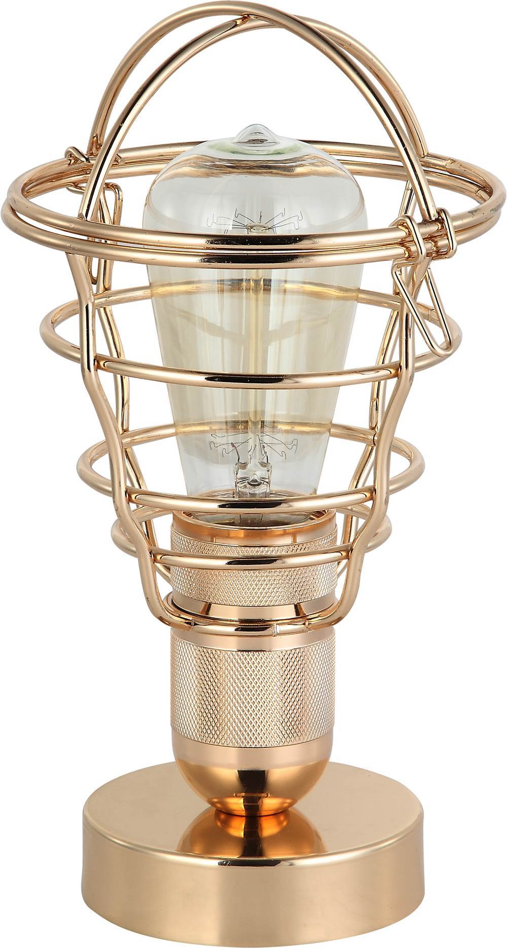 Luminaria de Mesa Lumini cor Dourado 27 cm (ALT) - 44042