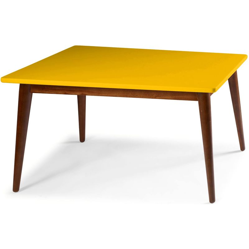 Mesa-Jantar-Novita-140cm-Base-Cacau-Cor-Amarela---44050