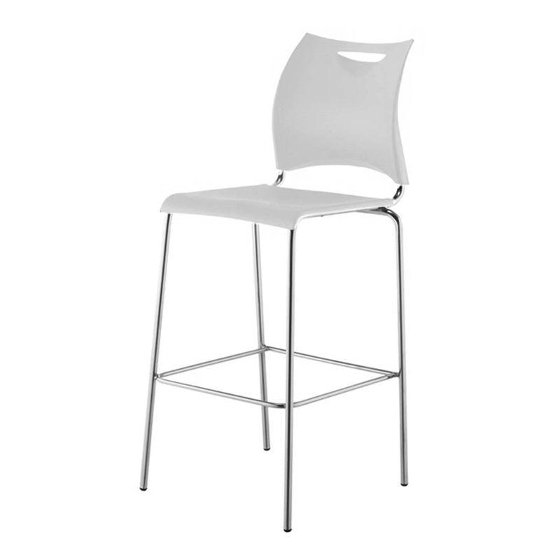 Banqueta-One-Assento-em-Polipropileno-Branco-com-Base-Cromada---44125