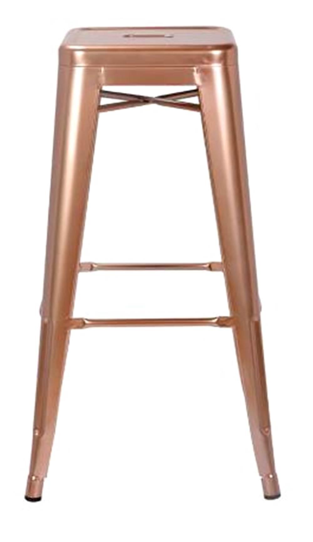 Banqueta Iron Tolix Cobre 77 cm (ALT) - 44066
