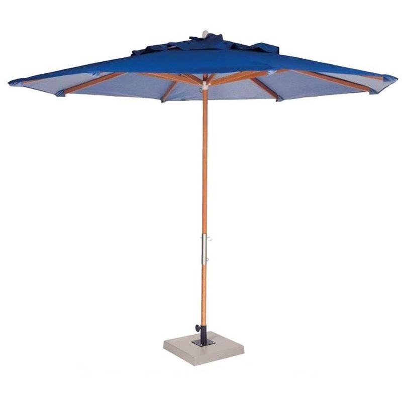 Ombrelone-Leblon-Azul-Marinho-em-Madeira-com-Base-em-Concreto-Central-240-MT--LARG--com-Tecido-Bagun---44263