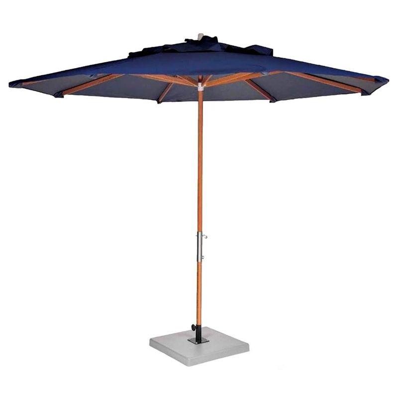 Ombrelone-Leblon-Azul-Royal-em-Madeira-200-MT--LARG--Base-65x65-cm-Central-com-Tecido-Bagun---44305
