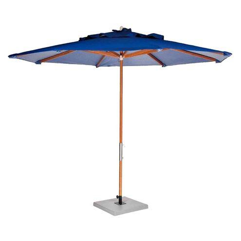 Ombrelone-Leblon-Azul-Marinho-em-Madeira-240-MT--LARG--Base-65x65-cm-Central-com-Tecido-Bagun---44317