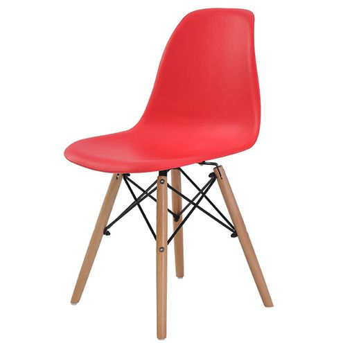 Cadeira-Eames-Eiffel-Polipropileno-Vermelha-Base-Madeira---44163