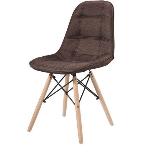 Cadeira-Eames-Eiffel-Linho-Marrom-Base-Madeira---43055