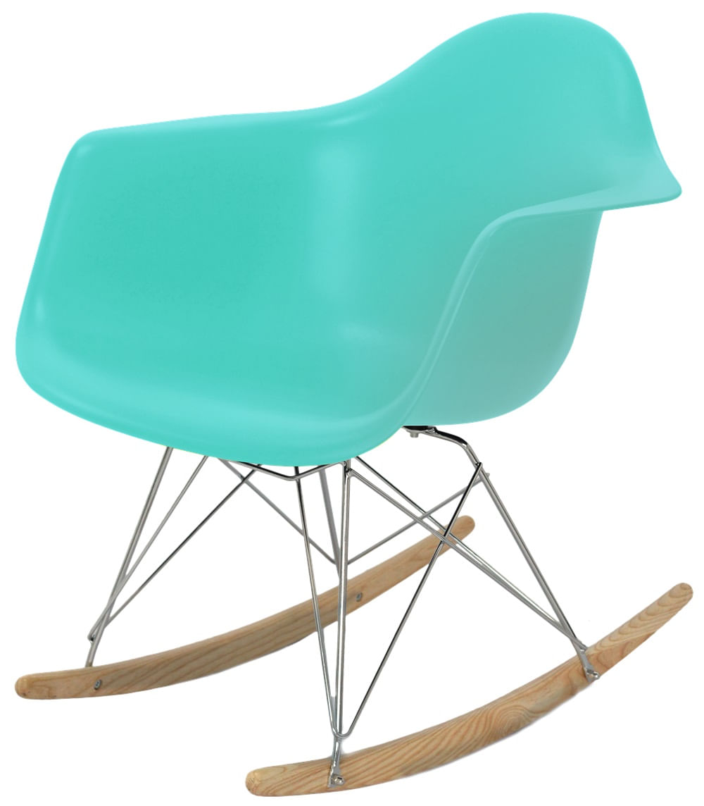 Cadeira Eames com Braco Base Balanco Tiffanny Fosco - 43638
