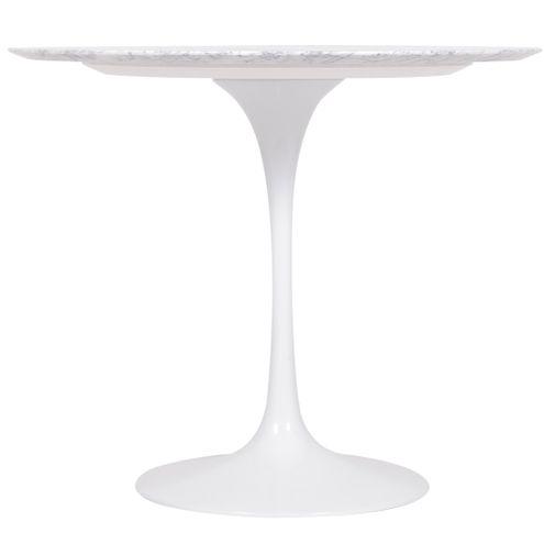 Mesa-de-Jantar-Saarinen-Redonda-Carrara-90-cm-Base-Branca---43938