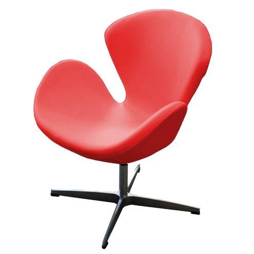 Poltrona-Swan-MKO-001-PU-Vermelho-com-Base-Aluminio---44487