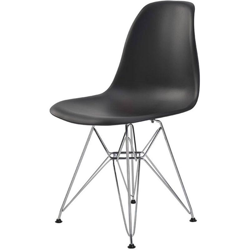 Cadeira-Eames-Eiffel-PP-Preta-Base-Cromada