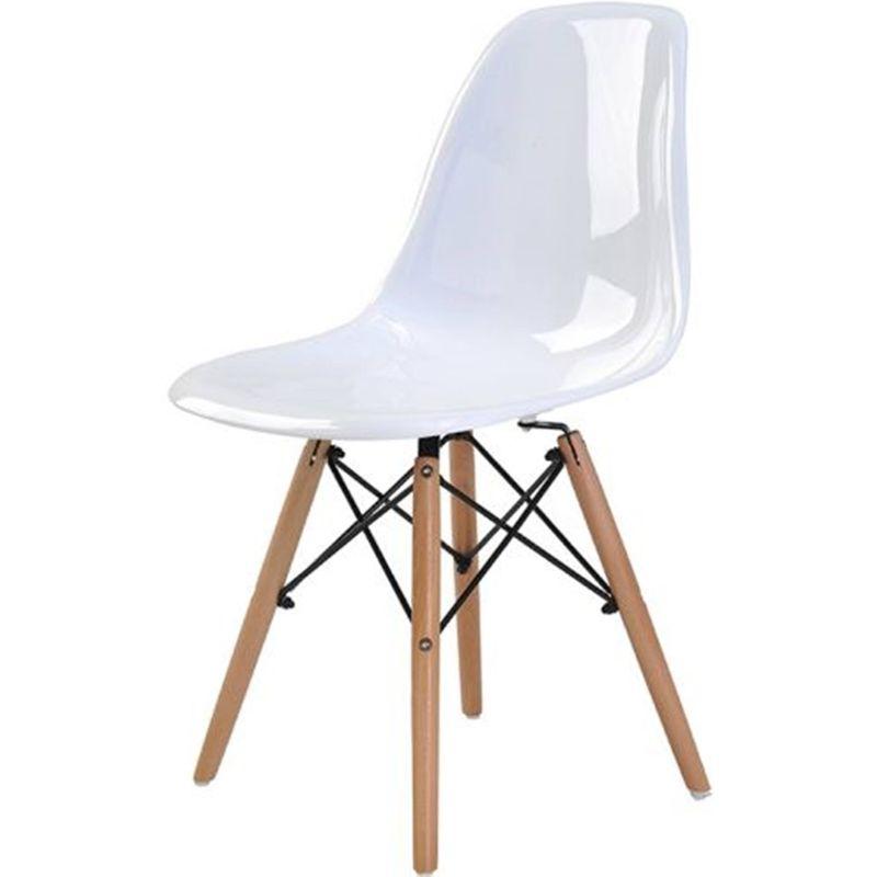 Cadeira-Eames-Eiffel-Policarbonato-Branco-Solido-Base-Madeira-