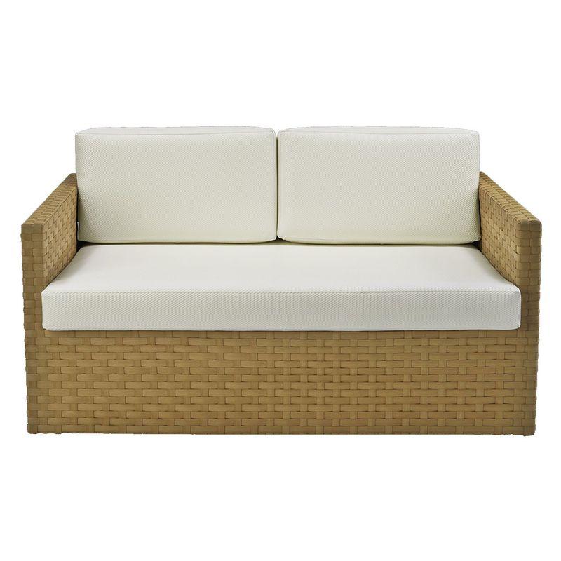Sofa-Corona-2-Lugares-Estrutura-Aluminio-Revestido-em-Fibra-cor-Bege-Madrid---44655