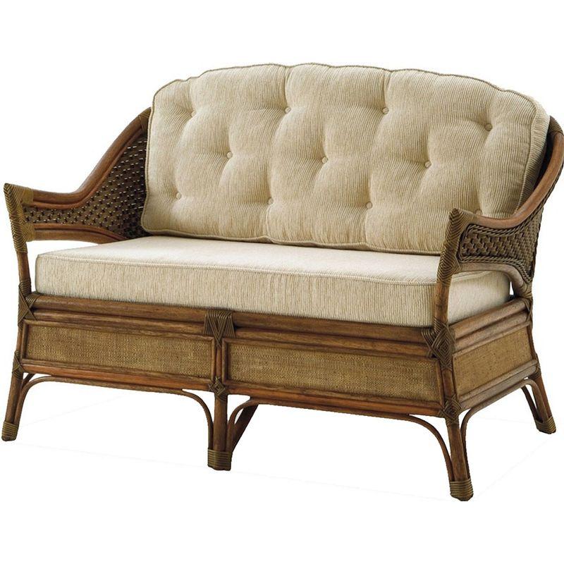 Sofa-Arizona-2-Lugares-Assento-Estofado-cor-Bege-com-Base-Madeira-Apui---44776