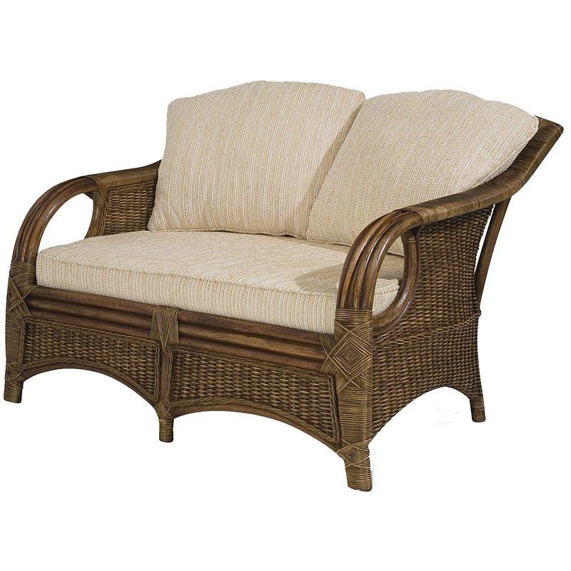 Sofa-Utica-2-Lugares-Assento-cor-Bege-com-Base-Madeira-Apui-Revestido-em-Junco---44779