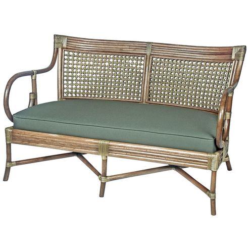 Sofa-Claire-2-Lugares-Assento-Linho-Acrilico-cor-Verde-com-Base-Madeira-Apui---44783
