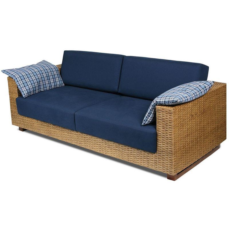Sofa-Salinas-3-Lugares-Assento-cor-Azul-Marinho-com-Base-Madeira-Revestida-em-Junco---44785