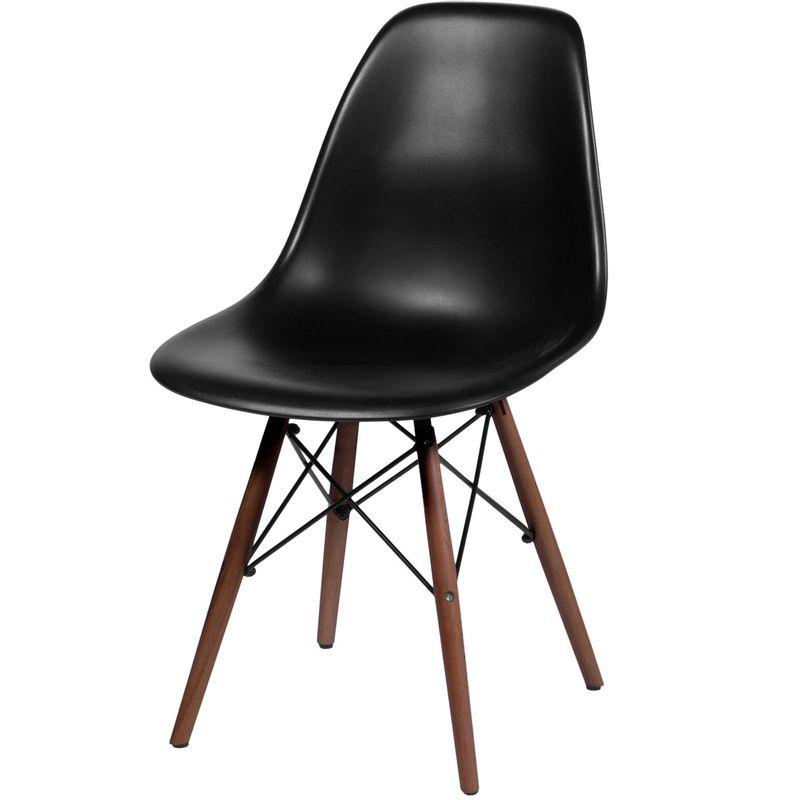 -Cadeira-Eames-Polipropileno-Preto-Fosco-Base-Escura