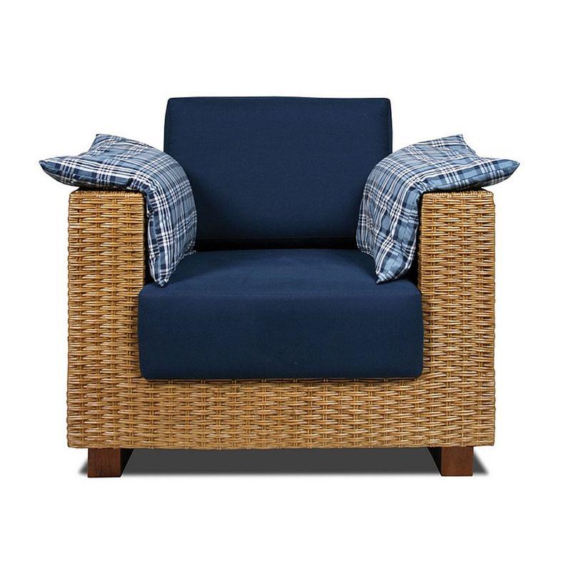 Poltrona-Salinas-Assento-cor-Azul-Marinho-com-Base-Madeira-Revestido-em-Junco---44850
