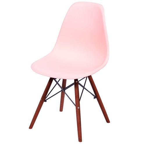 Cadeira-Eames-Polipropileno-Salmao-Fosco-Base-Escura---44840