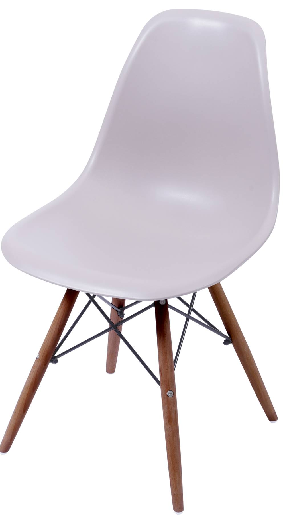 Cadeira Eames Polipropileno Fendi Base Escura - 44843