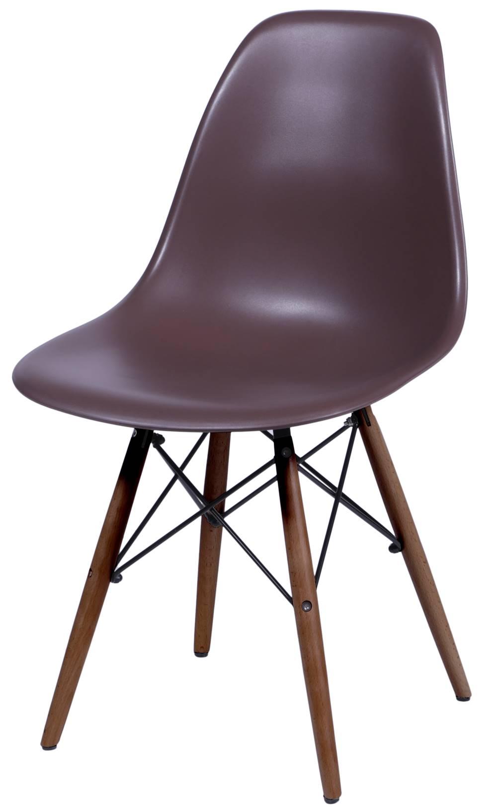 Cadeira Eames Polipropileno Cafe Base Escura - 44844