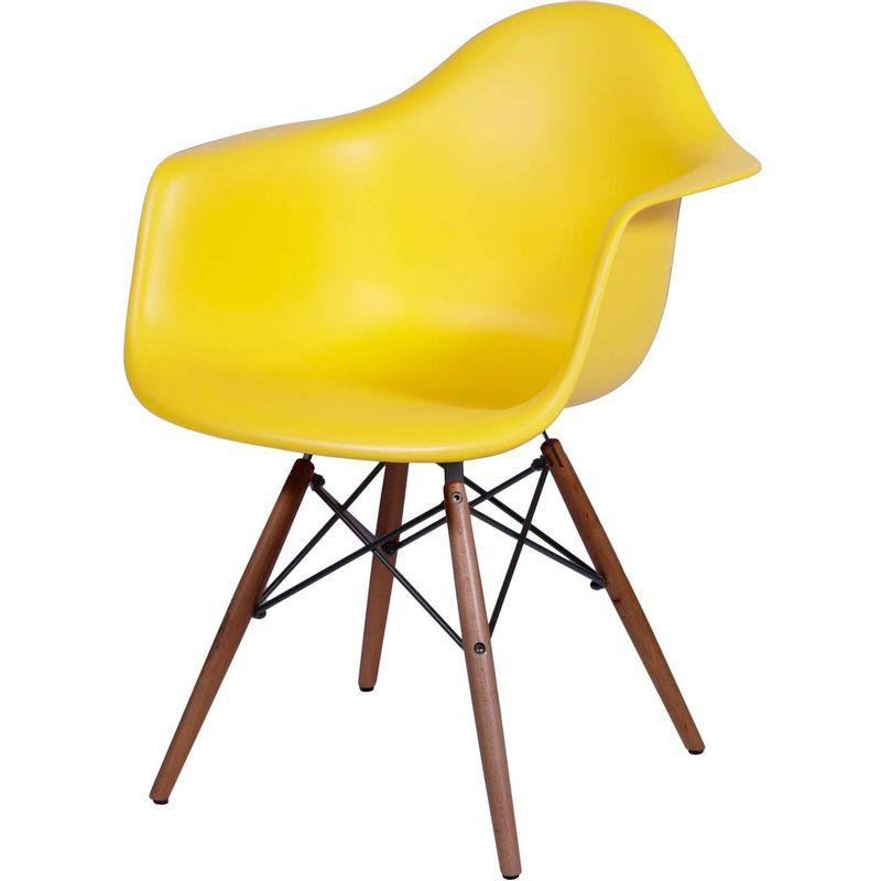 Cadeira-Eames-com-Braco-Base-Escura-Amarela-Fosco---44880