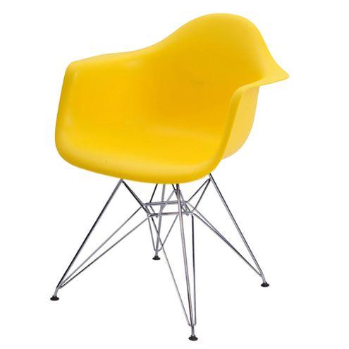Cadeira-Eames-Eiffel-com-Braco-Polipropileno-cor-Amarelo-Base-Cromada---44919