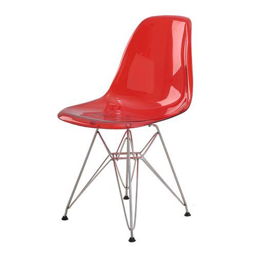 Cadeira-Eames-Eiffel-Policarbonato-Vermelho-Translucido-Base-Cromada---44197