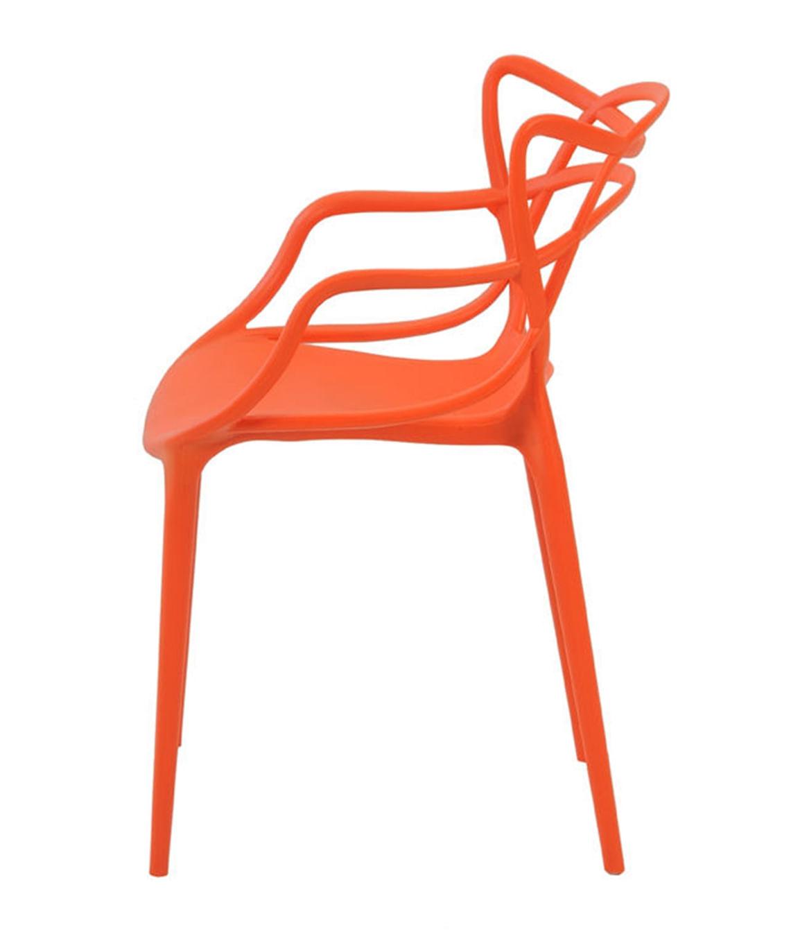 Cadeira Allegra em Polipropileno cor Laranja - 44935