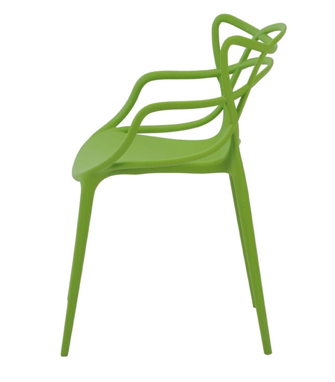 Cadeira Allegra em Polipropileno cor Verde - 44937