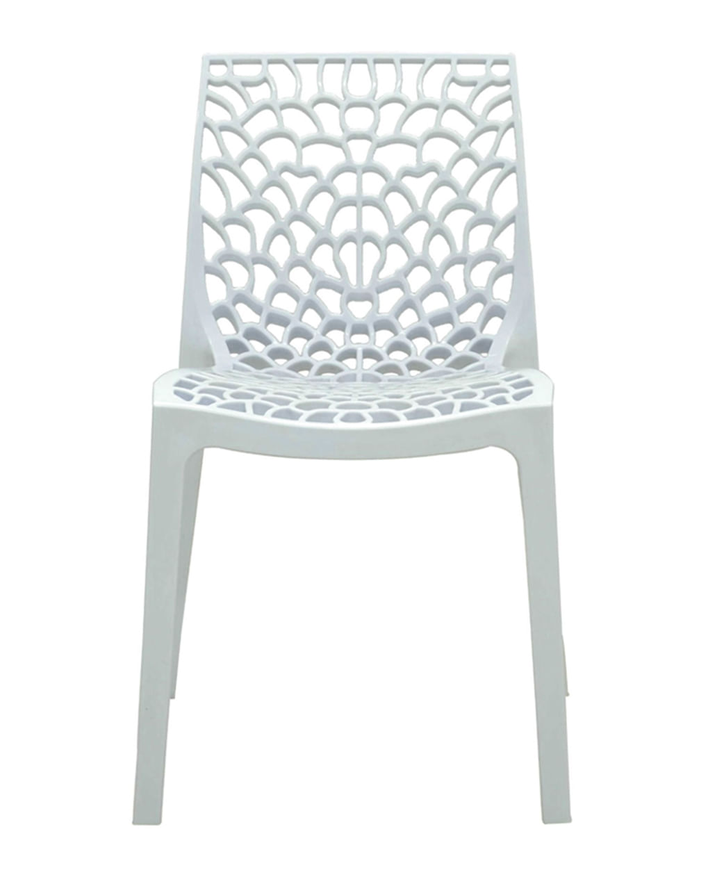 Cadeira Gruver em Polipropileno cor Branco - 44965
