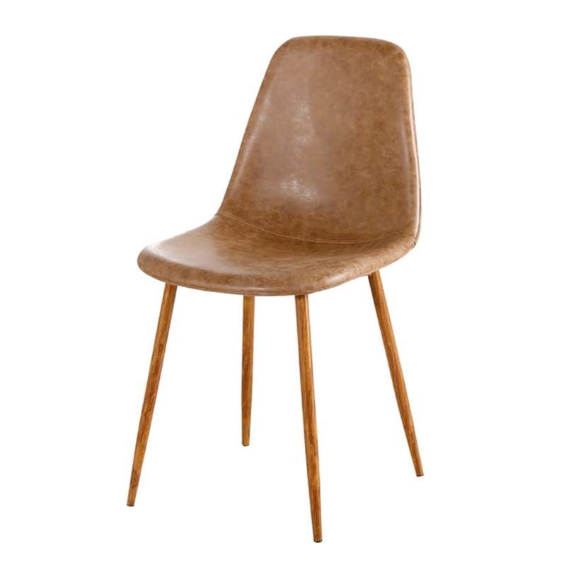 Cadeira-Jacob-PU-Marrom-com-Pes-Palito-cor-Nogueira---44989