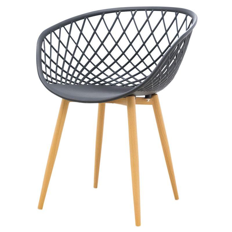 Cadeira-Clarice-Assento-em-Polipropileno-Preto-com-Base-Palito-cor-Madeira---45018