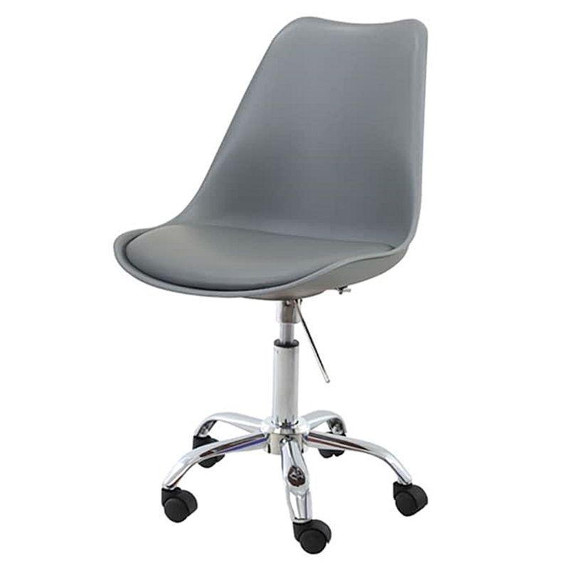 Cadeira-Saarinen-Assento-em-Polipropileno-cor-Cinza-com-Base-Cromada---45064