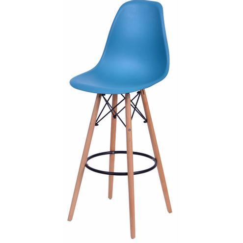 Banqueta-Eames-Eiffel-6602-Polipropileno-Azul-Petroleo-Fosco-Base-Madeira---45948-