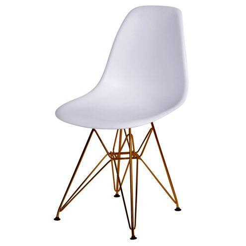 Cadeira-Eames-Polipropileno-Fosco-Branco-Base-Cobre---45967