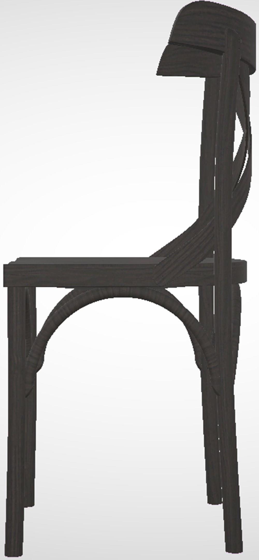 Cadeira Bristol Preto 79 cm (ALT) - 46017