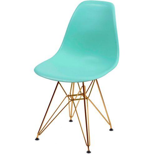 Cadeira-Eames-Polipropileno-Fosco-Verde-Tiffany-Base-Cobre---45973-