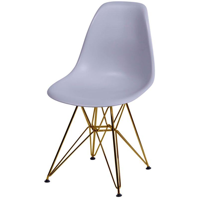 Cadeira-Eames-Polipropileno-Fosco-Cinza-Base-Cobre---45980-