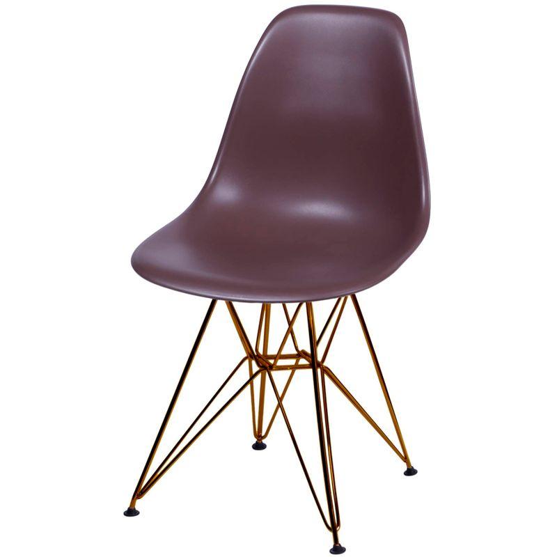 Cadeira-Eames-Polipropileno-Fosco-Cafe-Base-Cobre---45982-