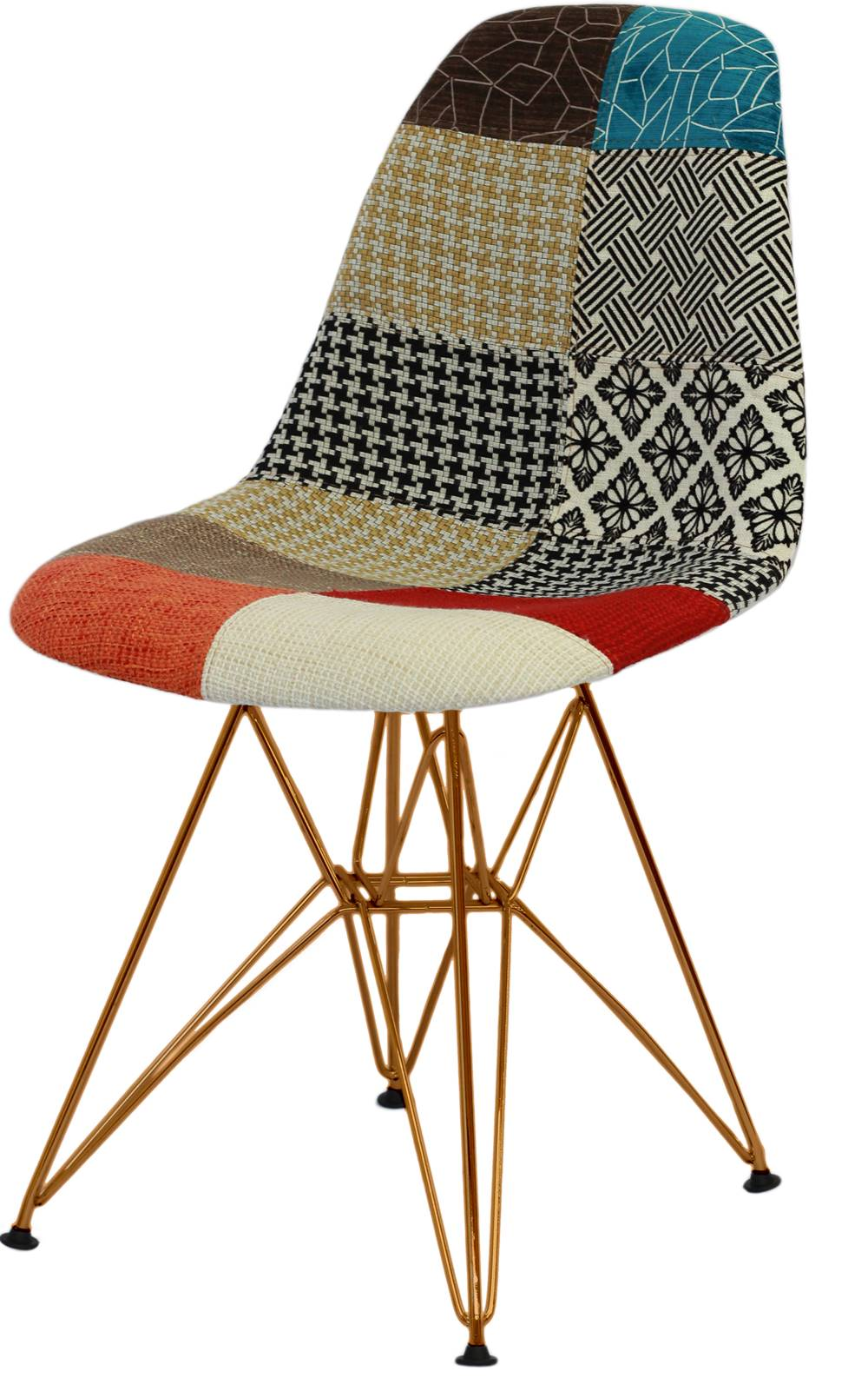 Cadeira Eames Mix Pacht Work Base Cobre - 46147