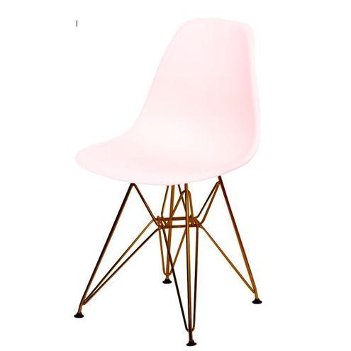 Cadeira-Eames-Polipropileno-Fosco-Salmao-Base-Cobre---45978-