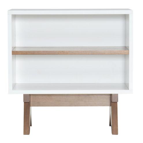 Aparador-Massimo-Laqueado-cor-Branco-Fosco-com-Base-Nogal-60-cm--LARG----46290