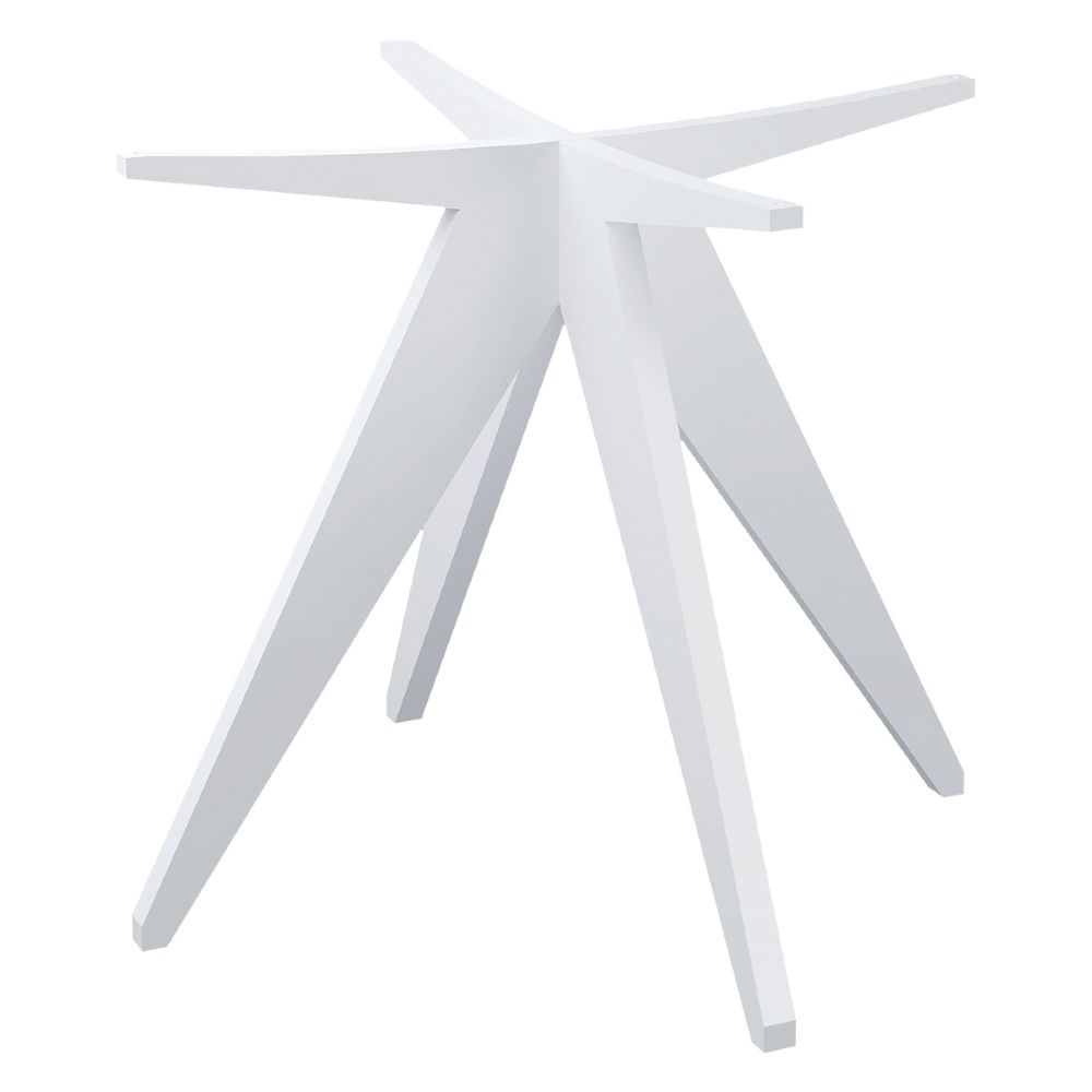 Base Mesa de Jantar Louis Laqueado cor Branco Fosco - 46377