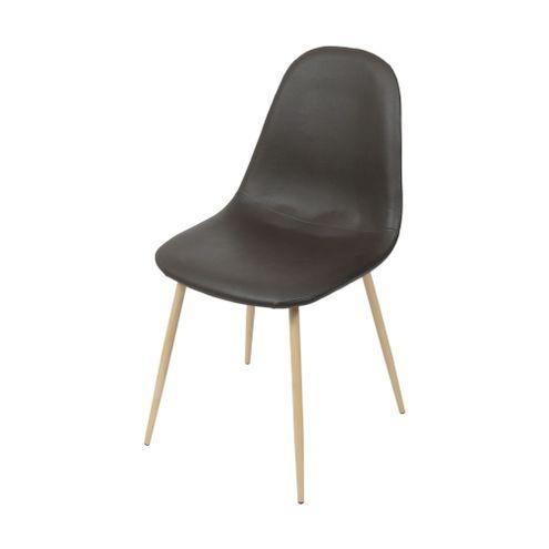 Cadeira-Robin-Assento-PU-Cafe-com-Base-Metal-cor-Madeira---46509