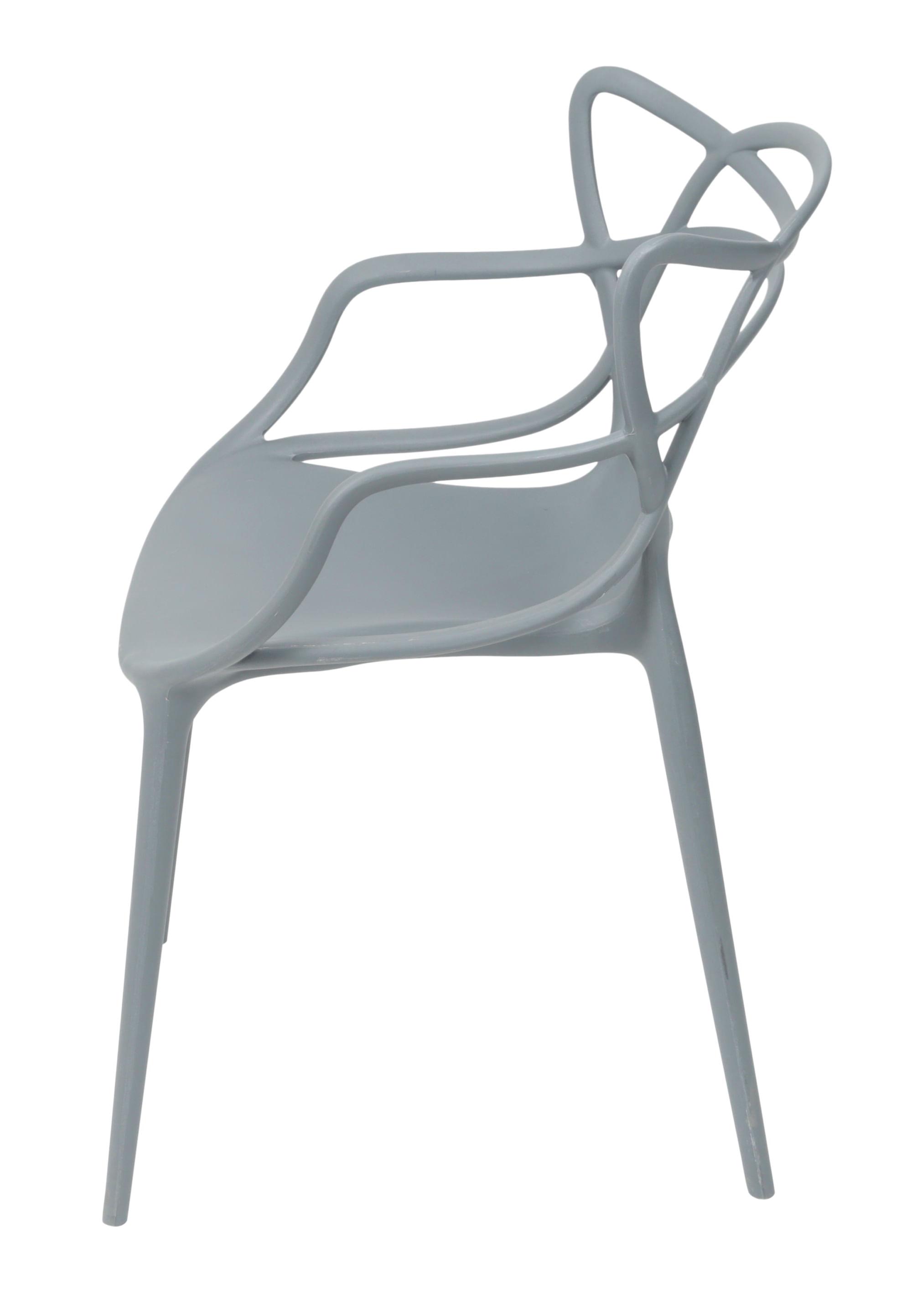 Cadeira Master Allegra Polipropileno Cinza - 46638