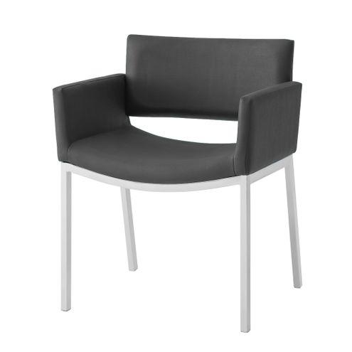 Cadeira-Bino-Assento-Estofado-Linho-Preto-com-Base-Fixa-Branca---46877