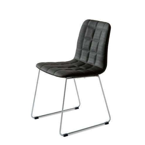 Cadeira-Quadra-Slim-Assento-Estofado-Linho-Preto-com-Base-Cromada---46891