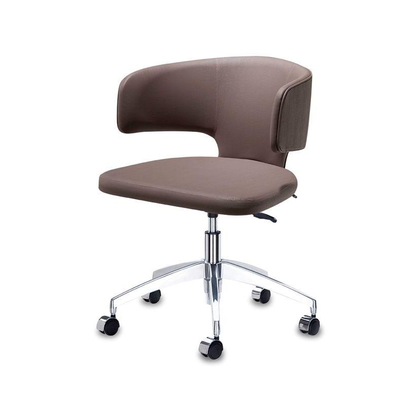 Cadeira-Hug-Assento-Linho-Trufa-com-Base-Rodizio-em-Aluminio---46921