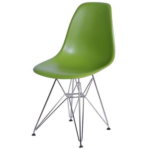 Cadeira-Eames-Polipropileno-Verde-Fosco-Base-Cromada---15053