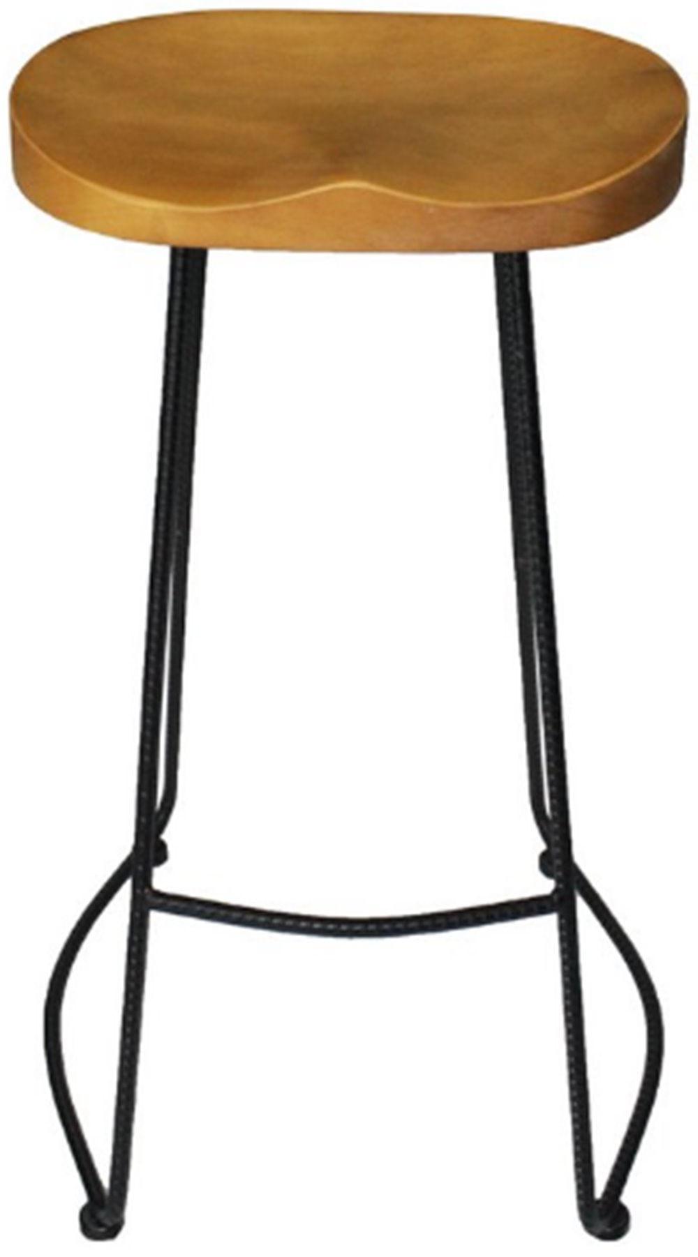 Banqueta Tamboa Preta 76 cm (ALT) - 47139